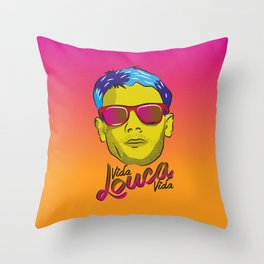 Cazuza - Rock Brasileiro Throw Pillow