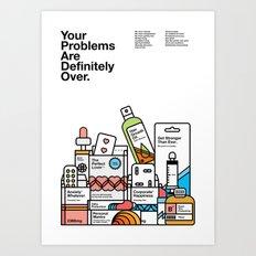 Self Help Poster Art Print