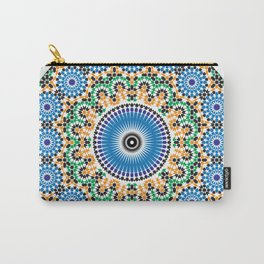 Moroccan Pattern Carry-All Pouch