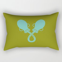 Aquarius Zodiac / Water-Carrier Star Sign Poster Rectangular Pillow