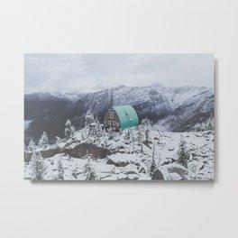 Conrad Kain Hut Metal Print
