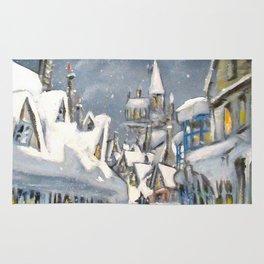 Snowy Hogsmeade Rug