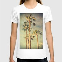 palms T-shirts featuring palms by Sylvia Cook Photography
