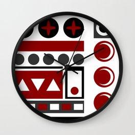 3 moon's Wall Clock