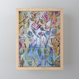 Floribunda Framed Mini Art Print