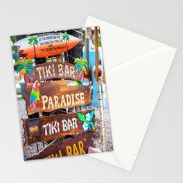 Which Way Tiki Bar Stationery Cards