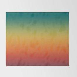 Colorful Trendy Gradient Pattern Throw Blanket