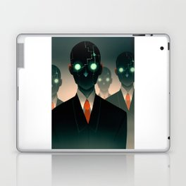 Microchip mind control Laptop & iPad Skin