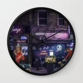 CADILLAC LOUNGE Wall Clock