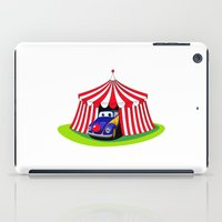 clown iPad Cases featuring Clown by Maestral