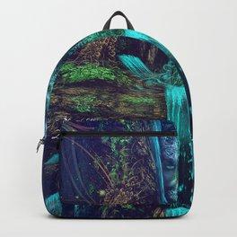 Waters Fall - Fractal - Visionary - Manafold Art Backpack