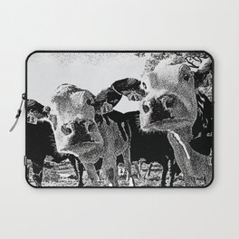 Funny Cows Laptop Sleeve
