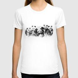 Panda Siblings T-shirt
