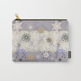 Flake&Lace (Parma) Carry-All Pouch