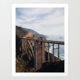 The Bixby Bridge Art Print
