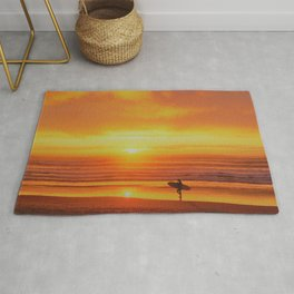 The Love Between a Guy and His Surf Board by Reay of Light Rug