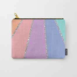 Rainbow Glitter Carry-All Pouch