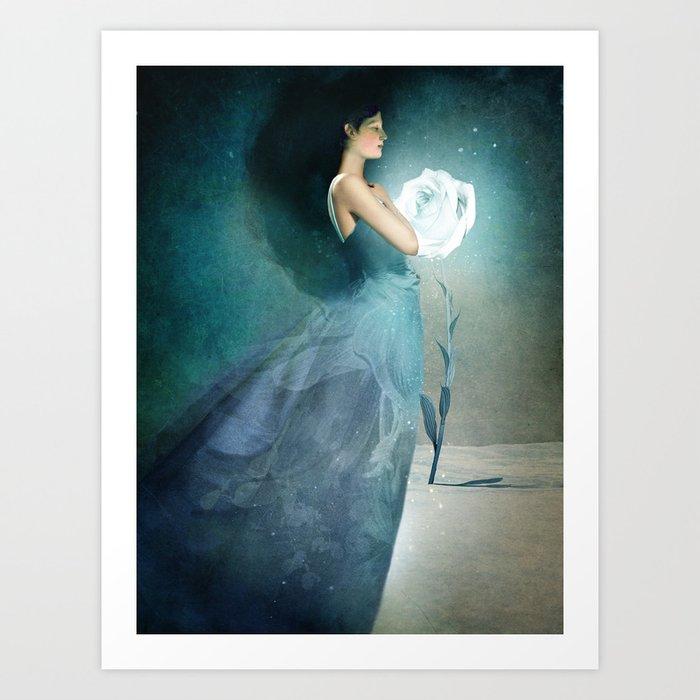 Ice Princess Art Print