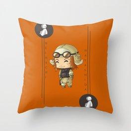 Chibi Heihachi Throw Pillow