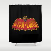 star lord Shower Curtains featuring Bat- Star Lord by Buby87