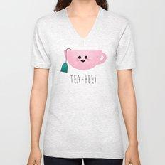 Tea-Hee Unisex V-Neck