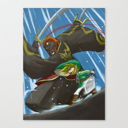 Wind Waker - The Final Battle Canvas Print