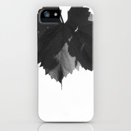 Untitled (Vine leaf you idiot) iPhone Case