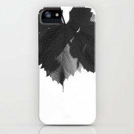Untitled (Vine leaf you idiot) iPhone Case