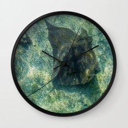 The Stingray Wall Clock