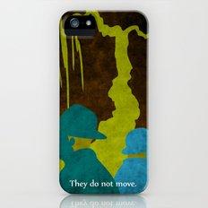 WAITING FOR GODOT - Book | Novel | Retro | Vintage | Vector | Surrealism | Funny | Irish Slim Case iPhone (5, 5s)