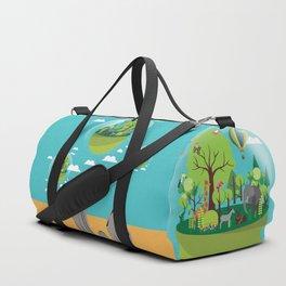 Longing for life Duffle Bag