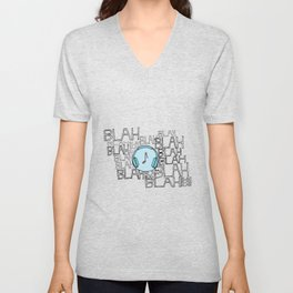 The power of music to cut through the noise Unisex V-Neck