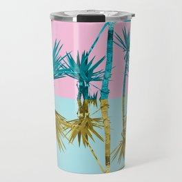 crazy palm trees Travel Mug