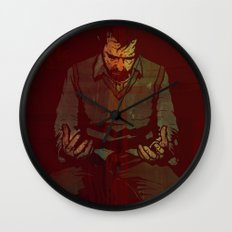 Out Of Range Wall Clock