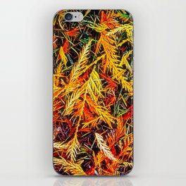 Cedar And Pine, Forest Floor iPhone Skin