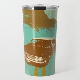 LONE BLUE ROAD Travel Mug