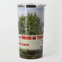 Drive-In Theater Sign Travel Mug