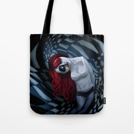 the dark side of my mind hurts Tote Bag