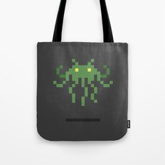 Cthulhu Invader Tote Bag
