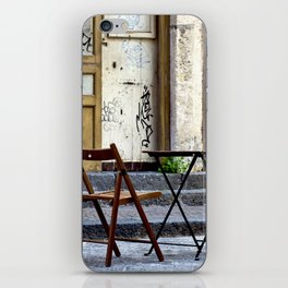 Coffee time in Catania on the Isle of Sicily iPhone Skin