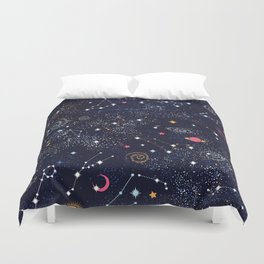 Space Galaxy Duvet Cover