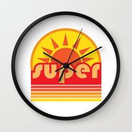 super duper Wall Clock