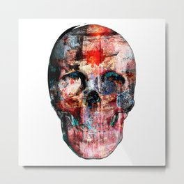 Skull Art Part I - V I Metal Print