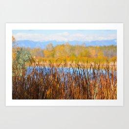 Fall at RMA Art Print