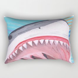 Punch Line Rectangular Pillow