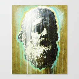 HOLYGHOSTFACE Canvas Print