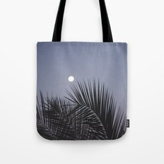 Moonrise over Los Angeles Tote Bag