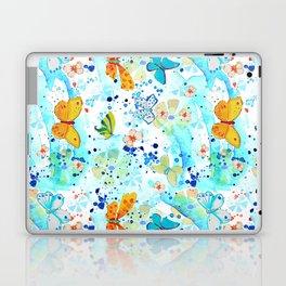Summer Butterflies Laptop & iPad Skin
