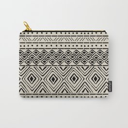 African Mud Cloth // Bone Carry-All Pouch