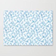 Frozen Palms Canvas Print